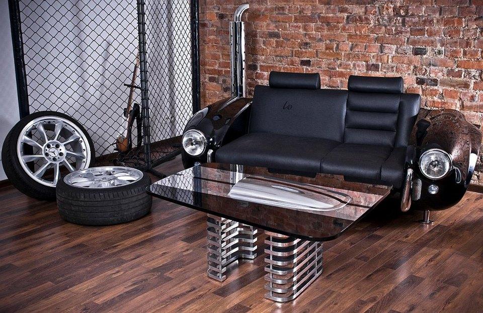best office desks made with cars. Black Bedroom Furniture Sets. Home Design Ideas