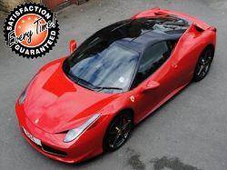 Ferrari 458 Italia (Ex Demo) Car Leasing