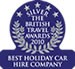 Best Holiday Car Hire Company 2010