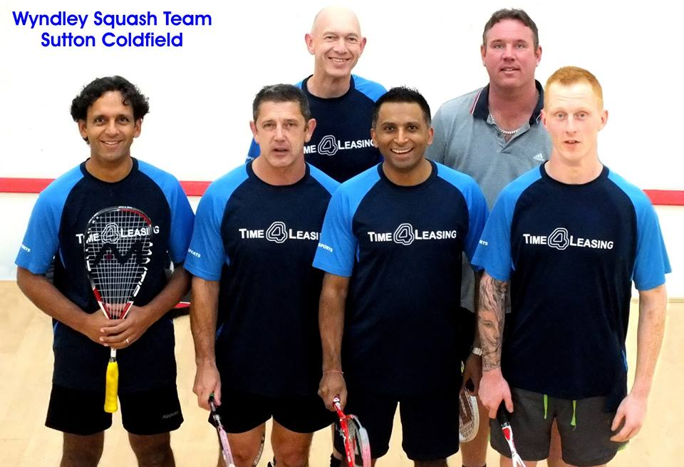 Sutton Coldfield Squash Team